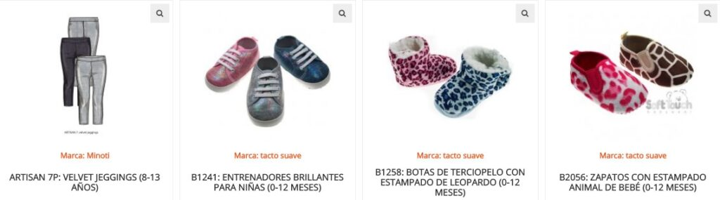 Productos de venta en Kiddies World Wholesale